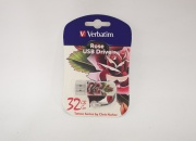 Флэш-диск Verbatim 32GB Mini Tattoo Edition Rose
