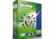 Антивирус Dr. Web® Security Space, 12 месяцев, 3 ПК